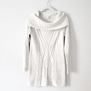 Motherhood Maternity Cowl Sweater  size M